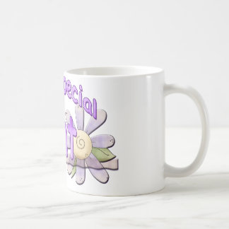 Very Special Great Aunt Flower Classic White Coffee Mug