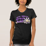 Very Special Great Aunt Flower Tee Shirt