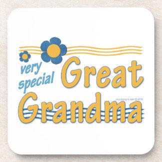 Very Special Great Grandma Drink Coasters