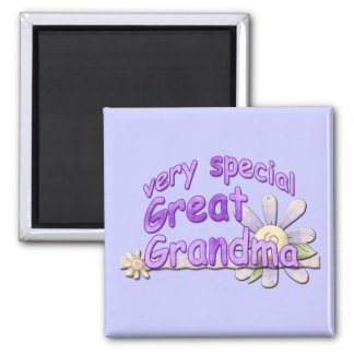 Very Special Great Grandma Design 2 Inch Square Magnet