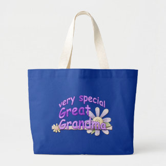 Very Special Great Grandma Design Tote Bags