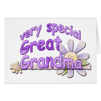 Very Special Great Grandma Design Cards
