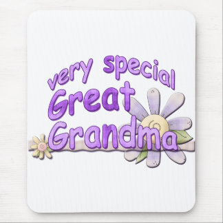 Very Special Great Grandma Design Mouse Pad