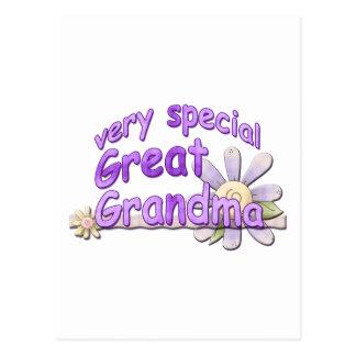 Very Special Great Grandma Design Postcard