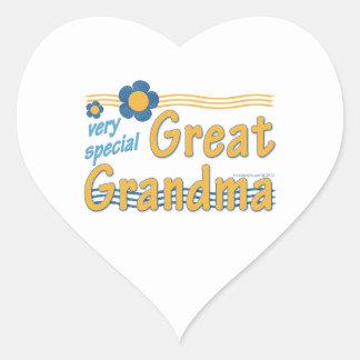 Very Special Great Grandma Heart Sticker