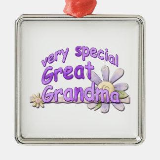 Very Special Great Grandma Metal Ornament