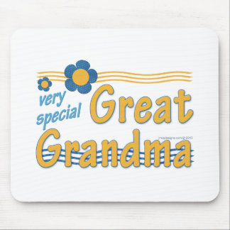 Very Special Great Grandma Mousepad