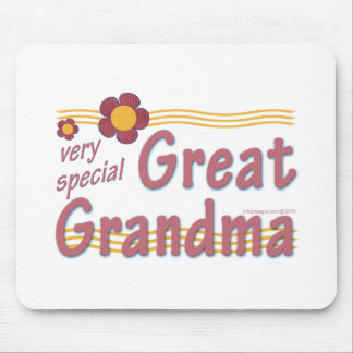 Very Special Great Grandma pink Mousepads