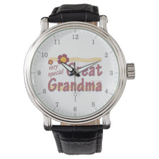 Very Special Great Grandma pink Wrist Watches