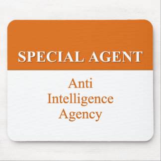 Very Special Secret Agent (2) Mouse Pad