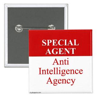 Very Special Secret Agent (3) Button