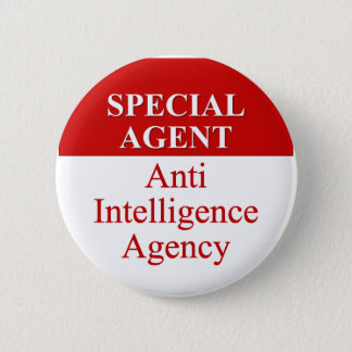 Very Special Secret Agent (3) Button