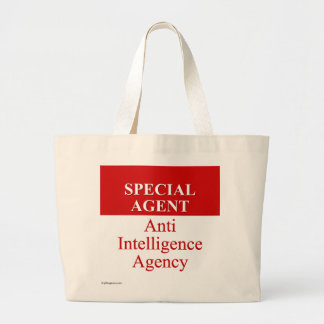 Very Special Secret Agent (3) Large Tote Bag