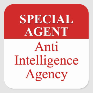Very Special Secret Agent (3) Stickers