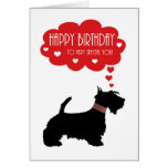 Very Special You With Scottish Terrier - Scottie Greeting Card
