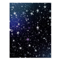 Very Starry Night Postcard