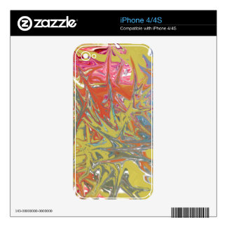 Very strange pattern decal for the iPhone 4S