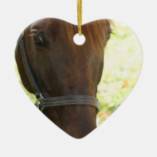 Very Sweet Chestnut Horse Ornament