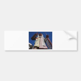 Very Tall Native American Bumper Sticker