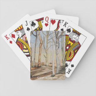 Very Tall Trees Playing Cards