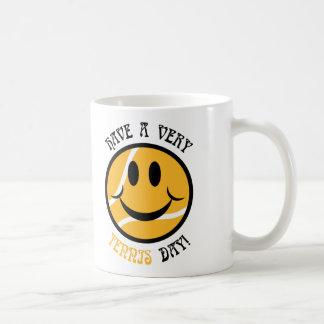 Very Tennis Day! Classic White Coffee Mug
