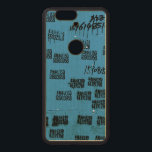 """Very Unique Cool Exotic Wood Nexus 6P Case<br><div class=""""desc"""">People write contact info on public walls as a form of advertisement in China. I thought that would be a cool and funny idea to add your name to the design to make you as part of the image. If you would like to have your name translated into Chinese and...</div>"""