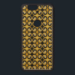 """Very Unique Cool Yellow Black Pattern Wood Nexus 6P Case<br><div class=""""desc"""">If you would like the designs on different products or have any questions,  please contact me.</div>"""