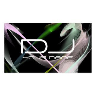 Very Unique DJ Business Card