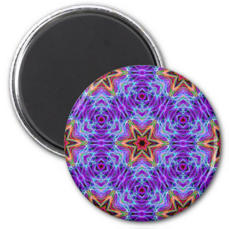 Very unique gift, LED light pattern 2 Inch Round Magnet