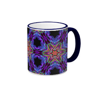 Very unique gift, LED light pattern Coffee Mugs