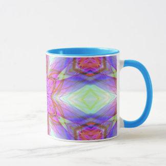 Very unique gift, LED light pattern Mug