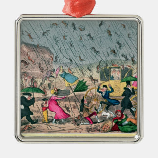 Very Unpleasant Weather, or the Old Saying Metal Ornament