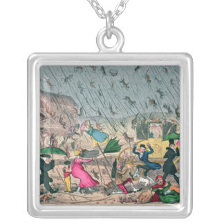 Very Unpleasant Weather, or the Old Saying Silver Plated Necklace