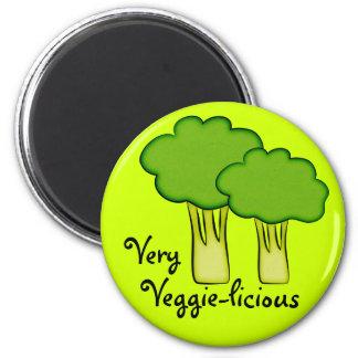 Very Veggie Vegetable Broccoli Art Fridge Magnet