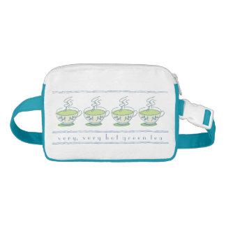 very, very hot green tea waist bag