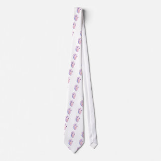 Very Violet Heart Neck Tie