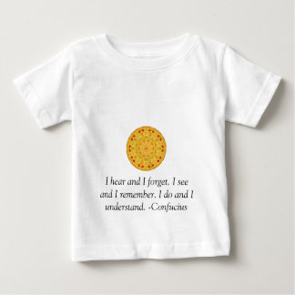 Very Wise Confucius Quotation Baby T-Shirt