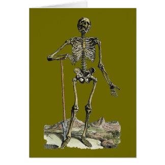 Vesalius: Skeletal System Stationery Note Card
