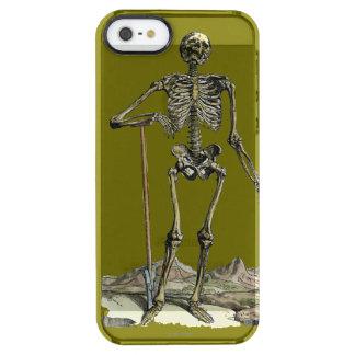 Vesalius: Skeletal System Clear iPhone SE/5/5s Case