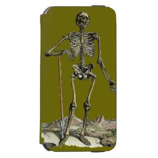 Vesalius: Skeletal System iPhone 6/6s Wallet Case