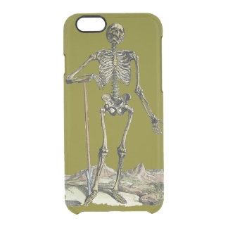 Vesalius: Skeletal System Uncommon Clearly™ Deflector iPhone 6 Case