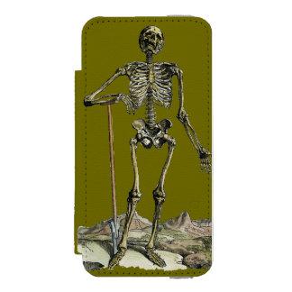 Vesalius: Skeletal System iPhone SE/5/5s Wallet Case