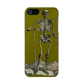 Vesalius: Skeletal System Metallic Phone Case For iPhone SE/5/5s