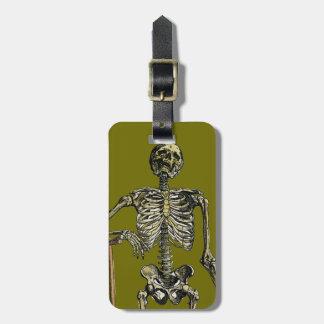 Vesalius: Skeletal System Tag For Luggage