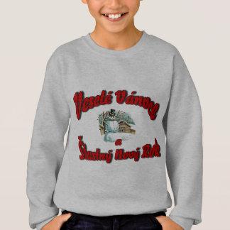 Veselé Vánoce a Šťastný Nový Rok Sweatshirt