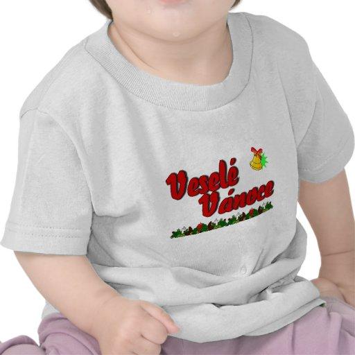 ¡Veselé Vánoce - Felices Navidad en Checo! Camiseta