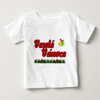Veselé Vánoce - Merry Christmas in Czech! Baby T-Shirt
