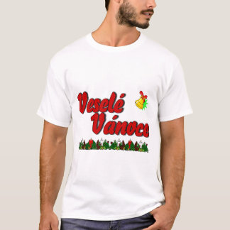 Veselé Vánoce - Merry Christmas in Czech! T-Shirt