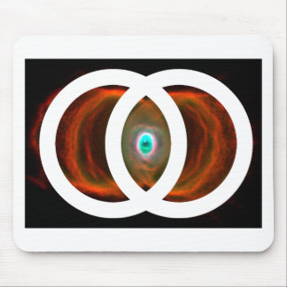 Vesica Piscis Hourglass Nebula Mousepads