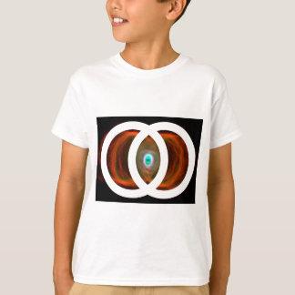 Vesica Piscis Hourglass Nebula T-Shirt